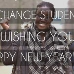 Exchange Students Wishing You A Happy New Year